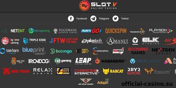 provider casino slot v